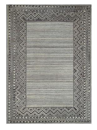 Mili Designs NYC Gray Zig Zag Rug, 5' x 8'