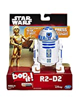 Star Wars R2 D2 Bop It! Game With Authentic Droid Sfx And Real Voice Of C 3 Po Actor (Au Import)
