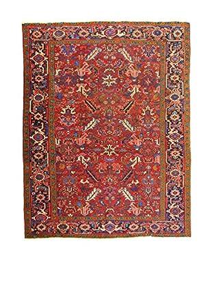 L'Eden del Tappeto Teppich V.Heriz rot/mehrfarbig 280t x t223 cm