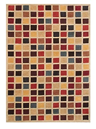 Mili Designs NYC Colorful Pixels Rug, 5' x 8'