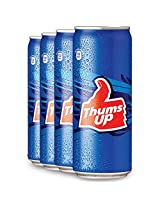 Thums Up Can 300ml (Pack of 4)