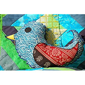 Bird Shaped Cushion