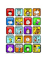 Eureka Peanuts Motivational Theme Stickers (Set Of 12)
