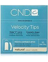 Creative Nail Tips Velocity False Nails, Natural No.10