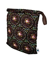 Planet Wise Roll Down Wet Diaper Bag, Outer Space, Large