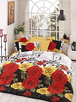 Colors Couture Bettdecke und Kissenbezug Bionca