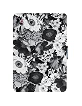 Speck Products StyleFolio Case and Stand for iPad mini 4, Vintage Bouquet/Nickel Grey/Boysenberry Purple (71805-C175)