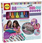 ALEX® Toys - Spa Fun, Tattoo's & More Super Mani Pedi Party 126X