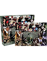 AC DC Collage Jigsaw Puzzle, 1000-Piece
