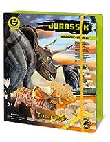 Geoworld Jurassic Triceratops Edubooks