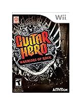 Guitar Hero: Warriors of Rock (Nintendo Wii)