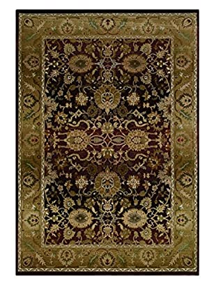 Granville Rugs Essence Rug (Purple/Gold)