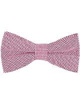 Dha1 Men's Cotton Bow Tie (Multi-Coloured)