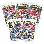 Pokemon Trading Card Game- 5 Packs (Random) - Basic Cards (Non Licensed)