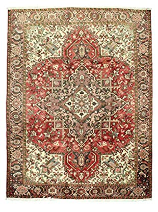 Bashian Hand Knotted Herez Rug, Rust, 8' 8