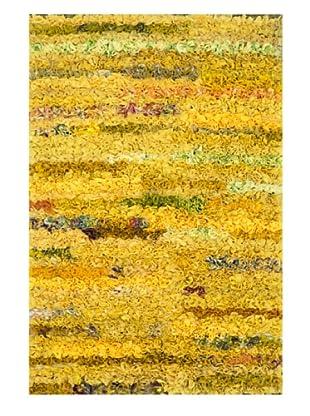 Loloi Eliza Shag Rug, Lemon, 3' x 5'