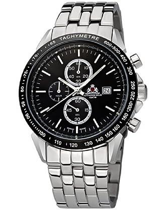 Rothenschild Armbanduhr Edelstahl/Silber/Schwarz