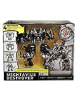 Bakugan Mechtanium Surge Exclusive 4in1 Mechtogan Destroyer Figure Mechtavius Destroyer
