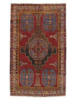 Rug Republic One Of A Kind Turkish Anatolian Hand Knotted, Multi Rug, 4' 5
