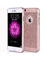 iPhone Bling Series - Hard Back Case Cover (iPhone 4 4g 4s, Rose Pink Glitter)