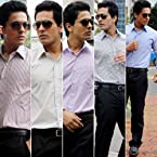 Gwalior Suitings Assorted Pack of Five Men Trousers And Shirts GS Combo 306