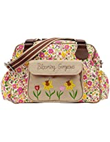 Pink Lining Blooming Gorgeous Cottage Garden Bag, Multicoloured