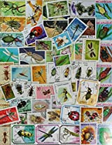 THEME ~ INSECTS ~ 40 Different STAMPS ~ ALL LARGE