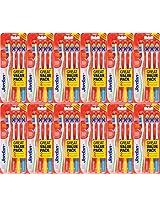 Jordan Total Clean 4pc Pack Soft Toothbrush (12)