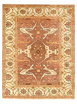 nuLOOM One-of-a-Kind Elwood Hand-Knotted Rug, Brown, 8' x 10'