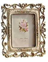 Gift Garden Picture Frame - Beautiful Hollow up 5x7 Photo Frames for Table Top or Wedding Table Decor
