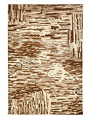 Solo Rugs Ziegler One-of-a-Kind Rug, Gold, 6' 1