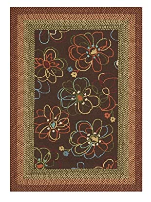Zamora Indoor/Outdoor Rug (Brown)