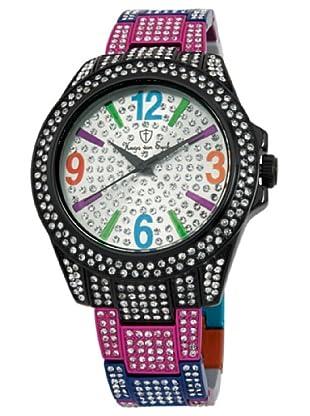 Hugo Von Eyck Reloj Amazing HE118-012_Plata / Negro