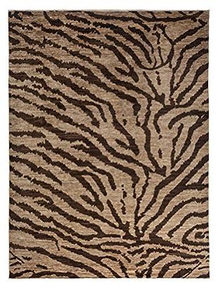 Darya Rugs Traditional Oriental Rug, Sand, 8' 10 x 11' 10