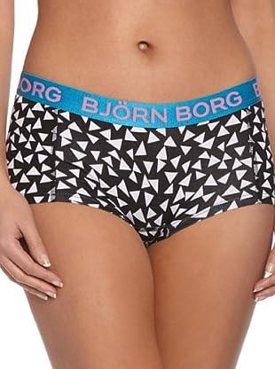 Björn Borg Culotte Triangle Confetti (Negro)