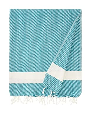 Nine Space Sultan Throw, Teal