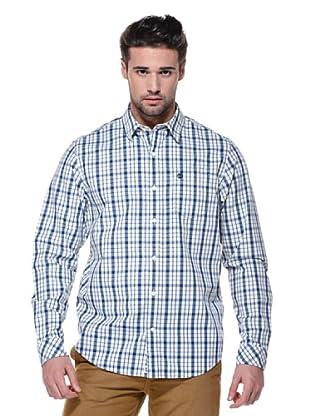 Timberland Camisa Claremont (Crema/Azul)