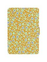 Speck Products StyleFolio Case and Stand for iPad mini 4, Kurbits Floral Orange/Nacho Orange/Heather Purple (71805-5070)