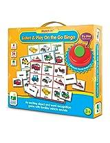 The Learning Journey Match It! Listen & Play Bingo, Transportation