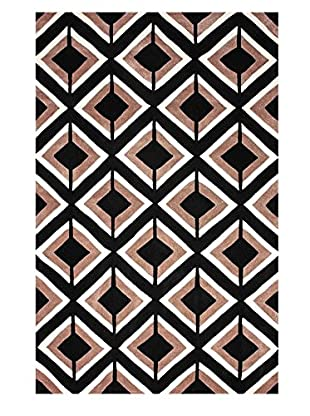 nuLOOM Hand-Tufted Darelene Rug, Black, 7' 6