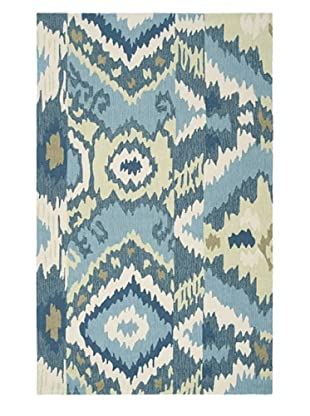 Surya Brentwood Rug (Taupe/Olive/Teal)