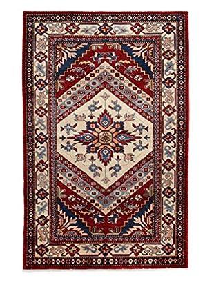 Darya Rugs Fine Kazak Oriental Rug, Ivory, 3' 3