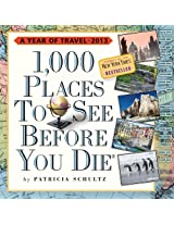 1,000 Places to See Before You Die Calendar PAD 2013 (Page a Day Calendar)
