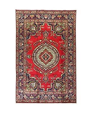 L'EDEN DEL TAPPETO Alfombra M.Tabriz Rojo/Multicolor 205 x 310 cm