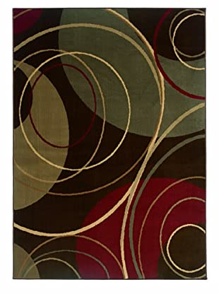 Granville Rugs Emery Rug (Brown)