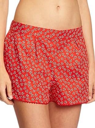 Princesse tam tam Short De Pijama Alisa 248 (Rojo)