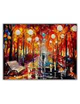 TIA Creation Love Romantick Canvas 0232 Print on Cotton Canvas 31inch x 22inch