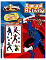 Parragon Power Rangers Activity Book