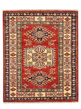 Kalaty One-of-a-Kind Kazak Rug, Red, 2' 1