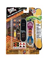 Tech Deck Wood Competition Series Finger Board Set TOY MACHINE